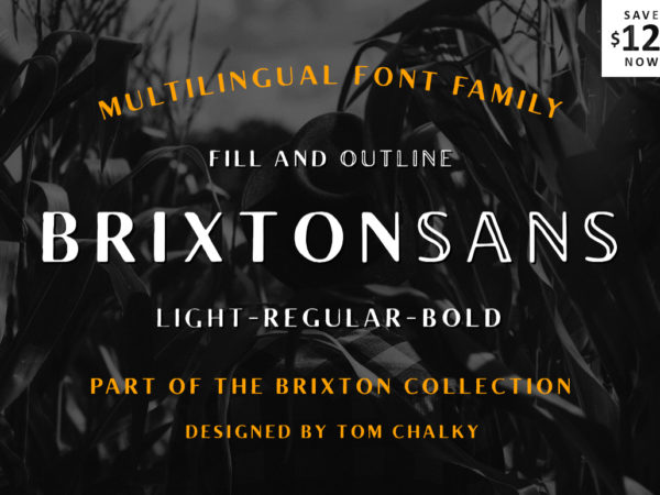 Brixton Sans preview 1