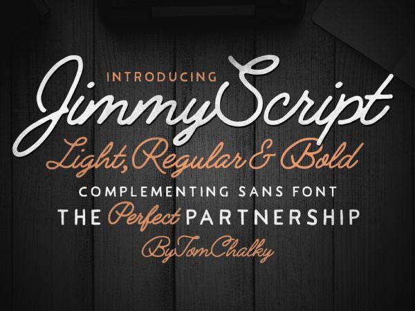 2-jimmy-script-font-family