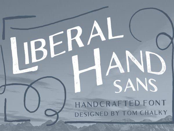 33-liberal-hand-sans