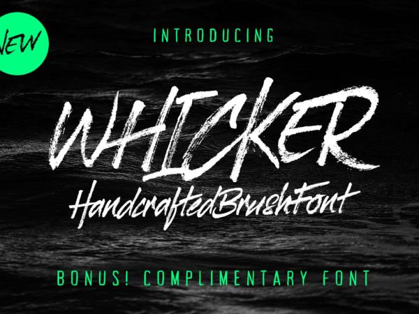 7-whicker-font