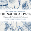 88 Vintage Nautical Illustrations (Vector and PNG)