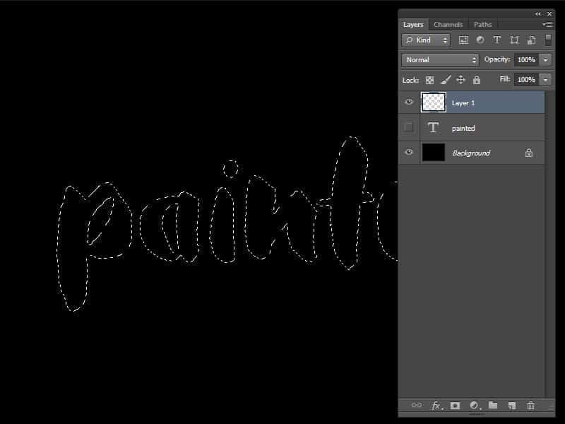 How to Create Watercolor Typography In Photoshop (Free Brushes