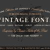 The Handcrafted Vintage Fonts Pack
