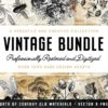 The Vintage Graphics Design Bundle (PLUS Bonus!)
