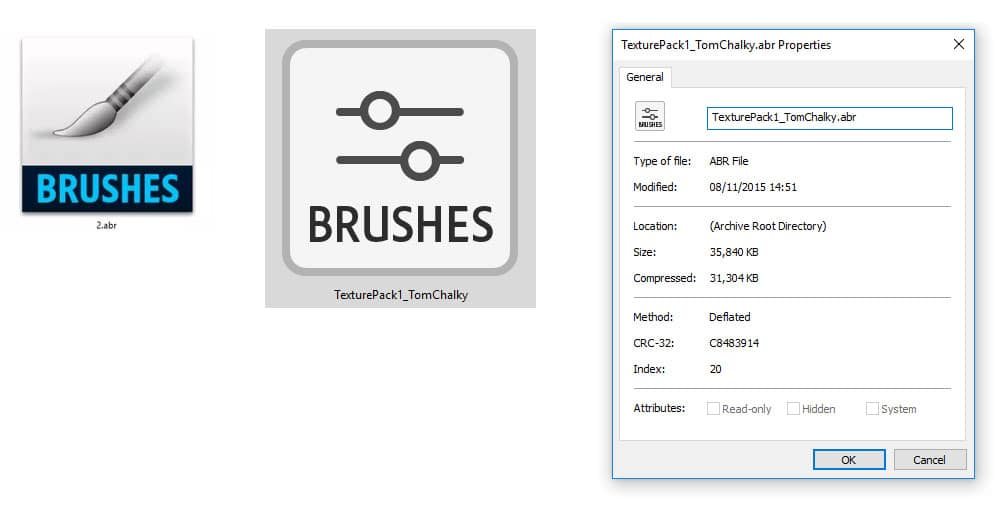 How to Install and use Photoshop Brushes ( abr files) - Tom