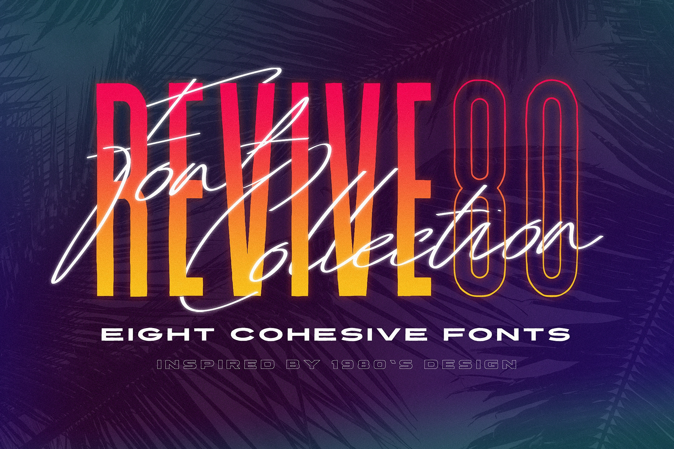 Revive 80 - 1980's Font Collection - Tom Chalky